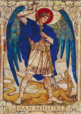 San Miguel ¿Quién como Dios? - Enciclopedia Mariana Lam